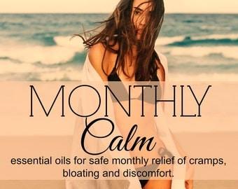 PMS CRAMP Relief  | Monthly Cramp Relief | Period Relief | Essential Oils for PMS | Period Cramp oils
