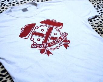 Punk Rock Tee, Skinhead Tee, Rocker T Shirt, Hardcore Tee, Logo Design, Silk Screen, Political Logo, Geeky Logo, Modern Tee, Ska Tee