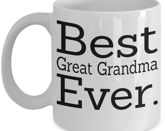 great grandma mug, great grandma gift, great grandparent gifts, great grandma gifts, great grandparents, great grandma coffee mug cup