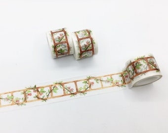 Ladder with Flowers Washi Tape