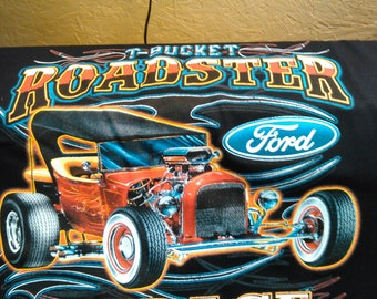 T-Bucket Roadster Garage T-shirt