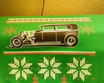 Street Rod Christmas Sweatshirt