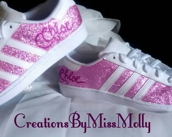 Glitter Customised Trainers/ Wedding Trainers