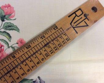 Ritz shoe measuring tool
