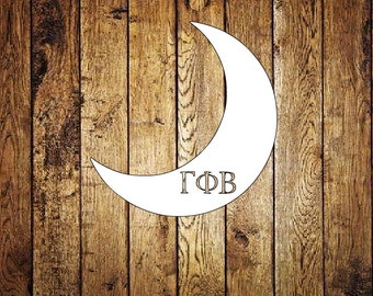 Gamma Phi Beta Crescent Decal