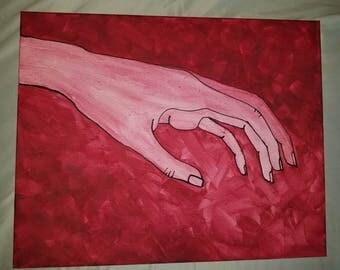 Maroon Hand