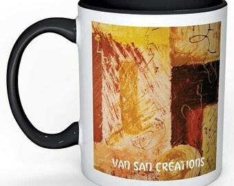 "Mugs Collection Art love - table ""Tierra viva"""