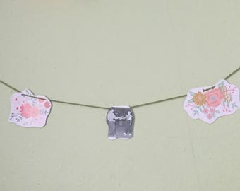 Recycled paper banner