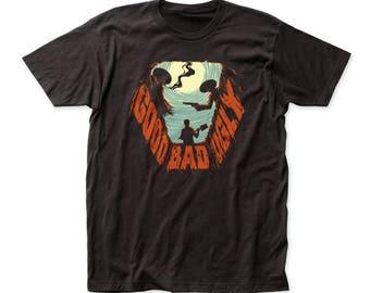 The Good, the Bad and the Ugly Grave Soft 30/1 Cotton Tee (UGLY03) Black
