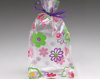 Goody Bags - Flower Cello Bags