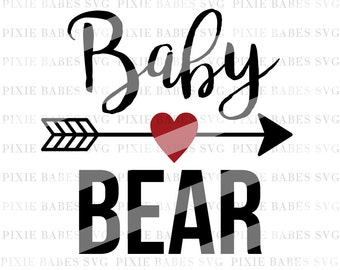 Baby Bear SVG, New Baby SVG, Baby Girl svg, Baby Boy svg, Newborn svg, svg files, svg Cuttable , Cricut svg, Silhouette svg, Cutting Files