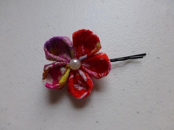 Japanese Beautiful and Cute Flower Hair Accessories Hair Clip Hair Pins Hair Stick