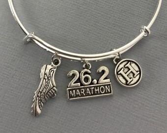 Gift for Runner - Marathon - Marathon Gift -Running Gifts for Women - Gift For Her - Gift for Mom - Runner Gift - Personalized Jewelry