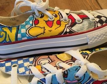 Custom Pokemon sneakers