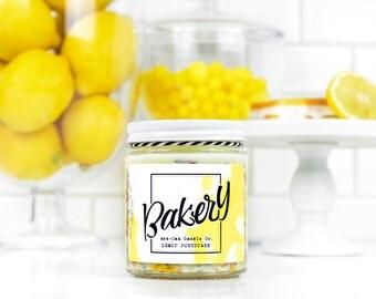Lemon Poundcake Soy Candle 8oz