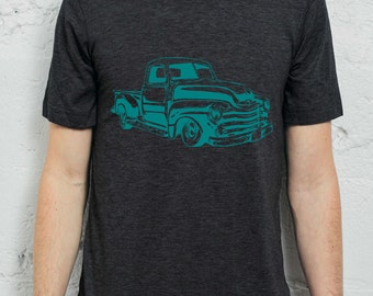 chevy pick up truck, chevrolet shirt, chevy tshirt, hot rod t-shirt, american cars, chevy tee, 49 chevy, truck shirt, pick up truck shirt