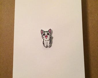 Friendship Card | Blank Card ~ Happy Kitty 2 ~ By Clair Lam
