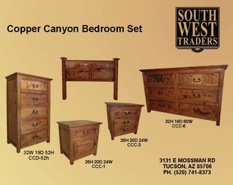 Copper Canyon Bedroom Set