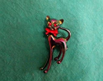 Kitty Cat Brooch