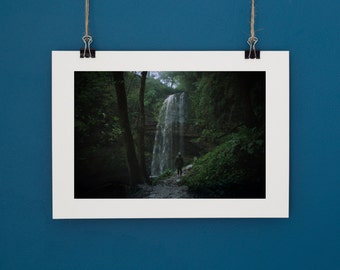 "Landscape Photography Waterfall Brecon Beacon. Print 6""x9"" or 4""x6"""