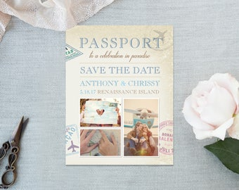 Save the Date Magnet (Printed)
