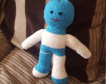 Knitted doll :)