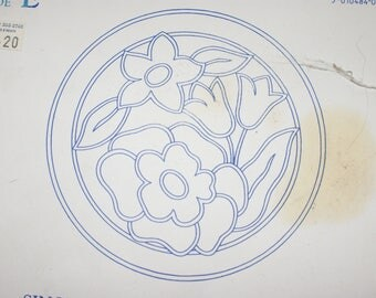 Vintage Deightons Embroidery Transfer Italian Quilting Design