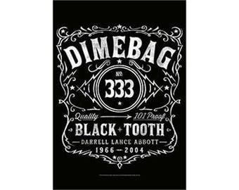 Pantera - Dimebag 333 - Fabric Poster