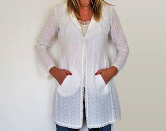 Veste d'été en coton