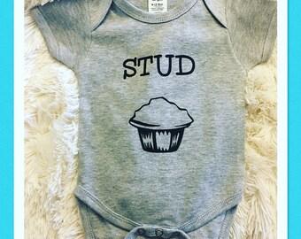 Stud Muffin Onesie