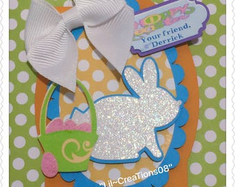 12 Easter Bunny Tags
