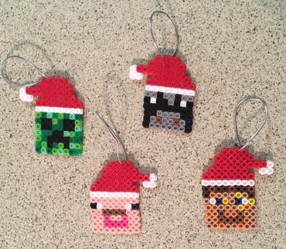 Minecraft Ornament Set