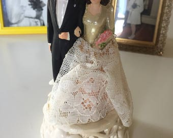 Coast Novelty MFG Wedding Cake Topper 1948