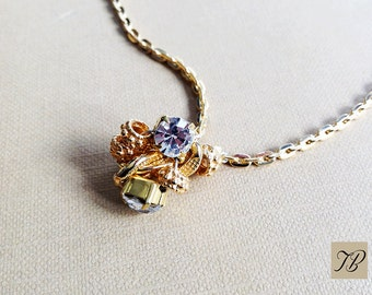 Women necklace, necklace chain, dainty necklace, Crystal Necklace, pendant, gold necklace, layering necklace, necklace