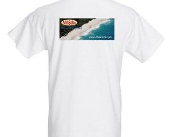 100% Cotton Short Sleeve AhhSoles Beach T Shirts