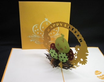 3-D Easter Pop-Up Card