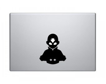 Aang Laptop Vinyl Decal Sticker Avatar Gift Home Decor