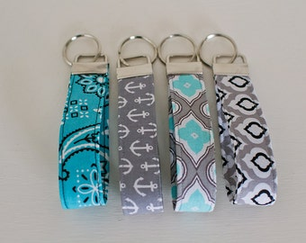 Key Fob-Key Fob Wristlet-Key Fob Key Chain-Wrist Lanyard-Key Lanyard-Anchor Key Fob-Wrist Key Chain-Wrist Key Holder-Keychain-Key Chain