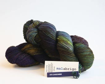 Malabrigo Arroyo merino wool yarn, kettle dyed, Candombe