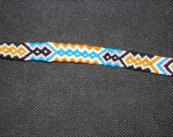 Aztec Style Friendship Bracelet