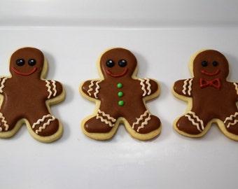 Gingerbread Men Cookies - 1 Dozen