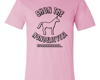 Charlie The Unicorn - Shun The Nonbeliever - Funny Meme YouTube T-Shirt
