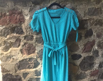 Cute 80s Spring Dress size Small
