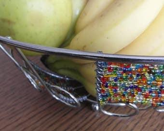 Hand gefertigt Draht Obstkorb