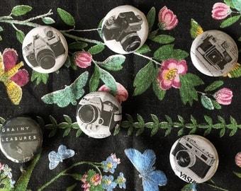 Vintage Camera 1969 Pins