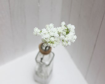 White green baby's breath Gypsophila Fiiler Plastic baby's breath Fake flowers Faux floral - item 4600