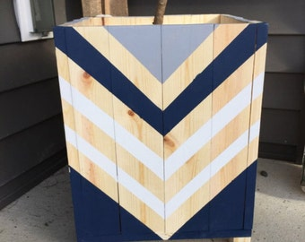Chevron planter