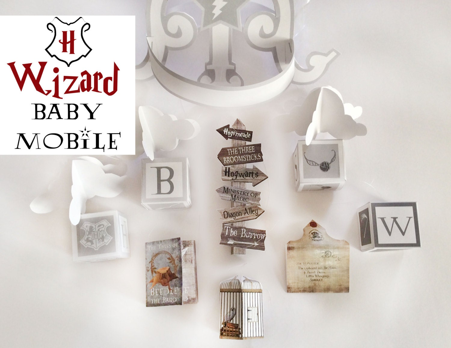 Harry Potter Baby Mobile Harry Potter baby printable baby