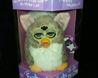 Vintage Furby. Original First Edition Furby Model # 70-800. New In Box.