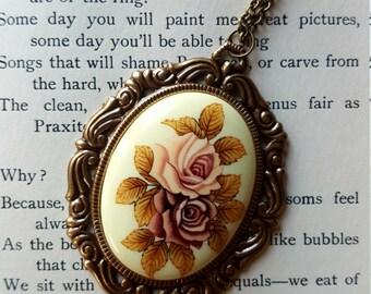 Rose Royalty Vintage Necklace